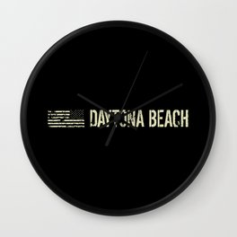 Black Flag: Daytona Beach Wall Clock