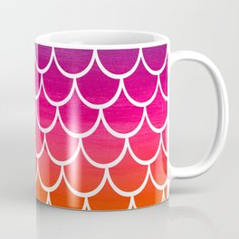 Rainbow Mermaid Scales Coffee Mug