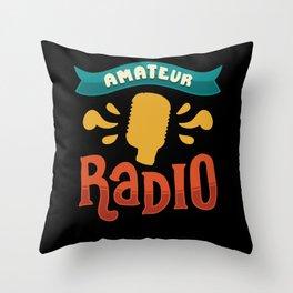 Ham Radio Gifts: Amateur Radio Throw Pillow