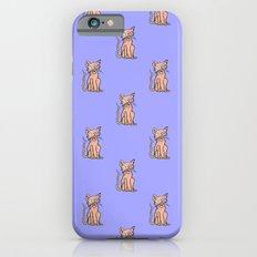 Crazy Cat (Orange/Purple) Slim Case iPhone 6s