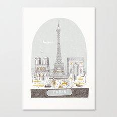 Petit Belle Canvas Print