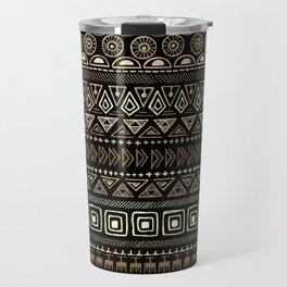 Ethnic tribal Pattern Travel Mug