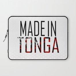 Made In Tonga Laptop Sleeve