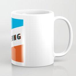 SURFING 3D - Square Coffee Mug