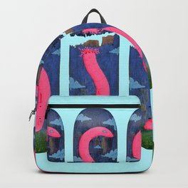 Worm- Blue Backpack