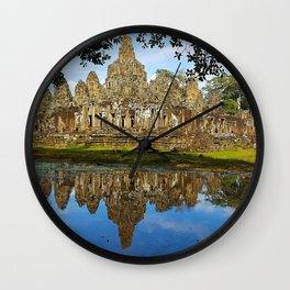 Angkor Thom Temple Cambodia Wall Clock