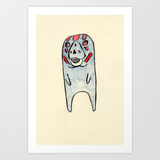 They Live Manatee Art Print