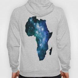 Africa Universe Blue Green Hoody