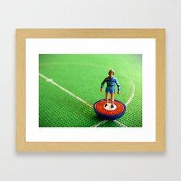 Chelsea Subbuteo Player 1984 Framed Art Print
