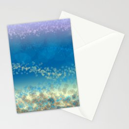 Abstract Seascape 03 wc Stationery Cards