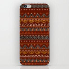 tribal pattern  vinous iPhone Skin