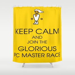 Glorious PC Master Race Shower Curtain