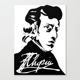 Frédéric Chopin (1810 – 1849) (II) Canvas Print