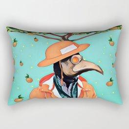 Orange man Rectangular Pillow