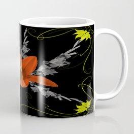 Lily and Gladiolas abstract Coffee Mug