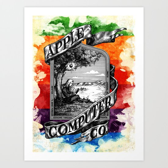 The Apple iVolution Art Print