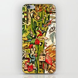 Cannibalism in Russia and Lithuania 1571 iPhone Skin
