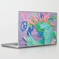 coco Laptop & iPad Skins featuring Coco by Sarah Underwood Illustration