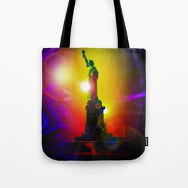 New York NYC - Statue of Liberty 10 Tote Bag