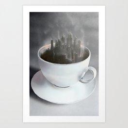 Café Dreaming Art Print