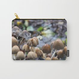 Mushroom City | Nature Photography Carry-All Pouch