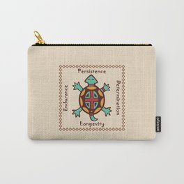 Turtle animal spirit Carry-All Pouch