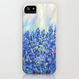 Lavender after the rain, flowers iPhone Case