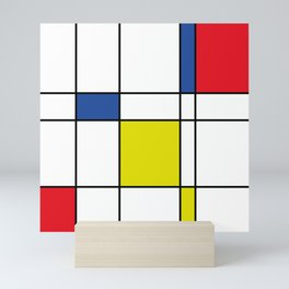 Mondrian 1 Mini Art Print