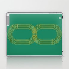 Eight track - runners never quit Laptop & iPad Skin