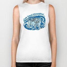 Lexy & Bruce - Swim beyond misconceptions! Biker Tank