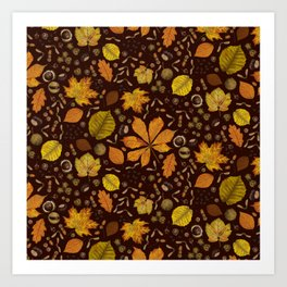 autumn 2 Art Print