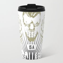 Behind every engineer is a mechanic readt to fix his sshit Travel Mug