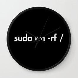sudo rm -rf Wall Clock