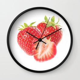 Strawberry 1 Wall Clock