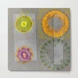 Quaternary Strategy Flowers  ID:16165-142241-78321 Metal Print