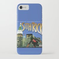 sith iPhone & iPod Cases featuring Sith Rick by Ant Atomic