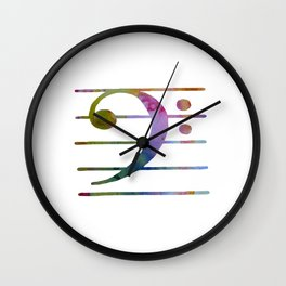 Bass Clef Wall Clock