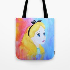 In Wonderland Tote Bag