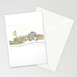 Trinity High School Watercolor Louisville, KY Stationery Cards