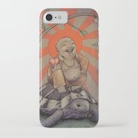 buddah iPhone & iPod Cases featuring Buddah by BBarends