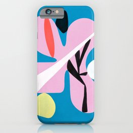 Balancing Objects no. 1 — Abstract Contemporary Art iPhone Case