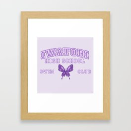Iwatobi - Betterfly Framed Art Print