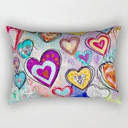 H is for Heart Rectangular Pillow
