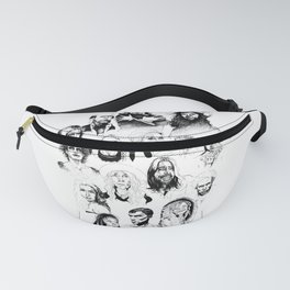 Music Faces Fanny Pack