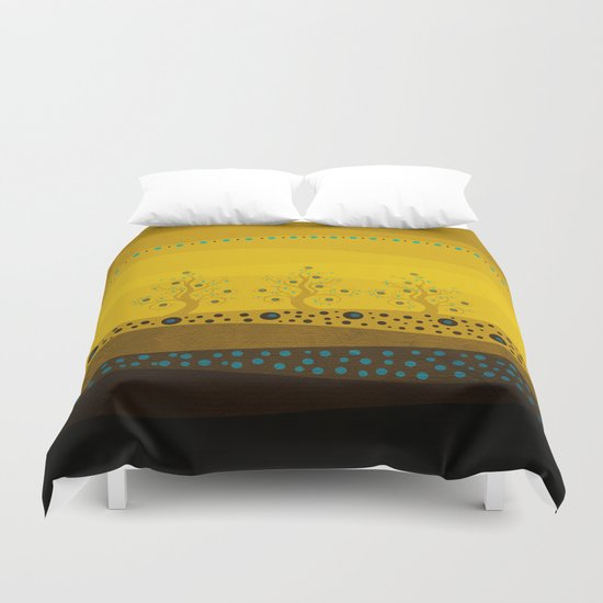 Color/Landscape 3 Duvet Cover
