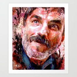 There Will Be Blood- Daniel Plainview Art Print