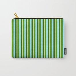 zakiaz green stripe Carry-All Pouch