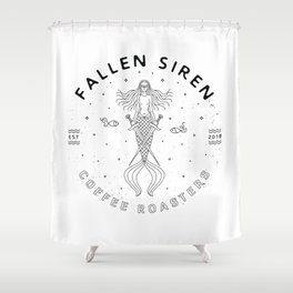 Fallen Siren Shower Curtain
