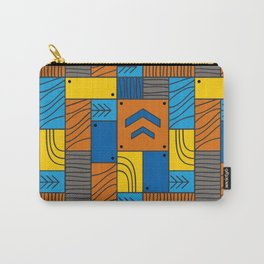 Pattern: abstract forest Carry-All Pouch