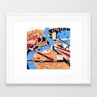 london Framed Art Prints featuring London by Patrick O'Leary